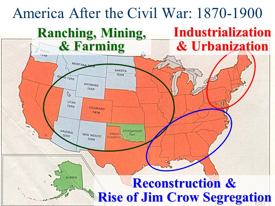 policies of reconstruction after the civil war