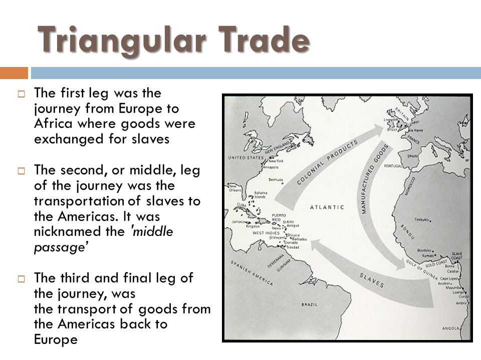 Triangular Trade Worksheet - geografic info