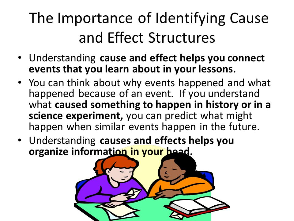 Cause and Effect Card Game Activity