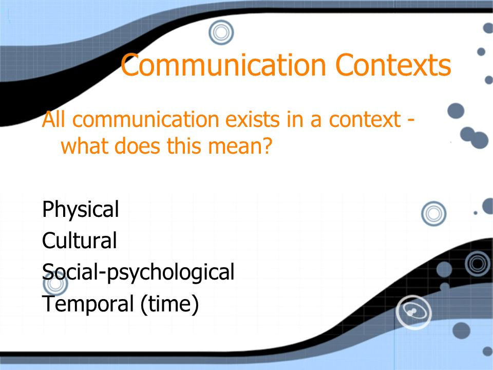 communication involves content and relationship dimensions