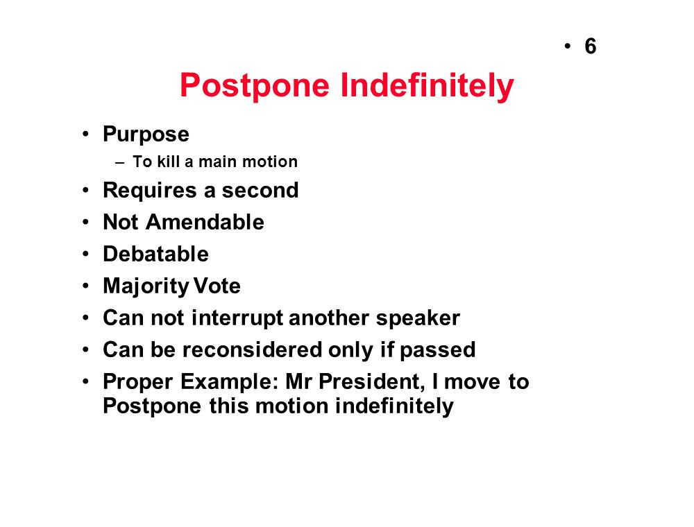 Parliamentary Procedure - ppt video online download