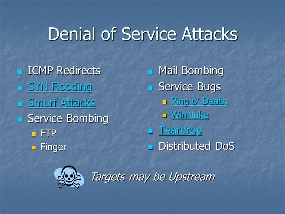 Network Attacks CS432 - Security in Computing - ppt download