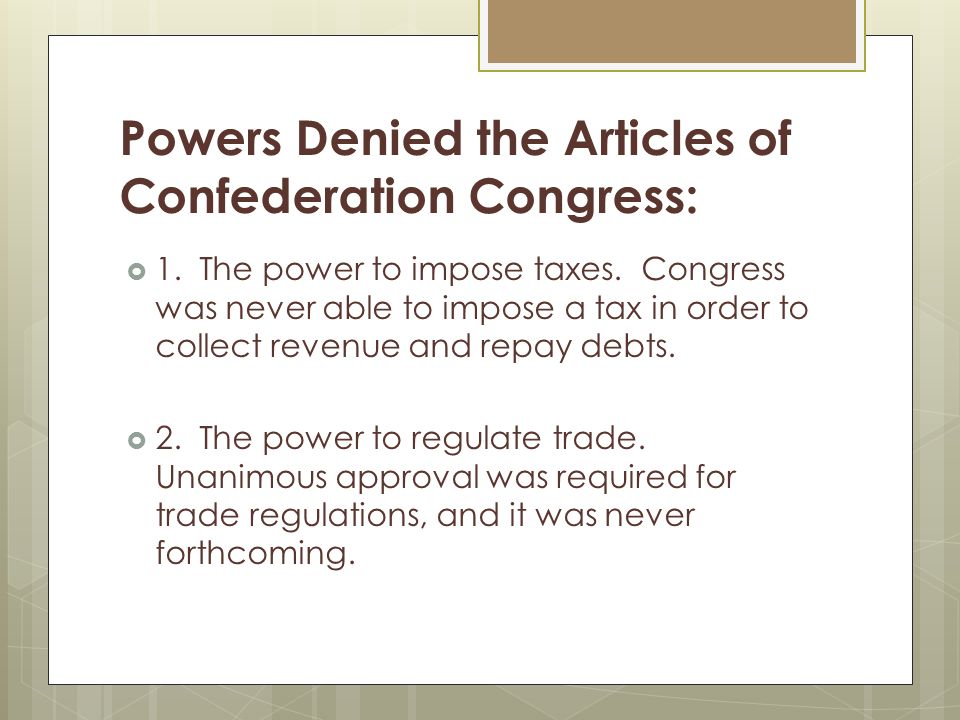 downfall of the articles of confederation Similarities between the articles of confederation and the the disagreements among states coupled with the lack of a strong government led to the downfall of.