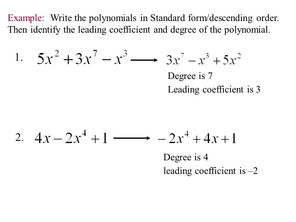 Write a degree 3 polynomial with 4 terms