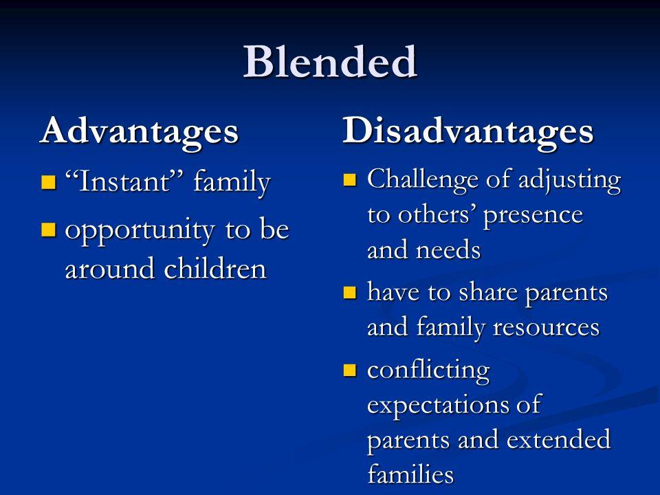 advantages of living in a single parent family Another advantage of living in a modern family is that each member is single-parent families advantages and disadvantages of living in a village essay.