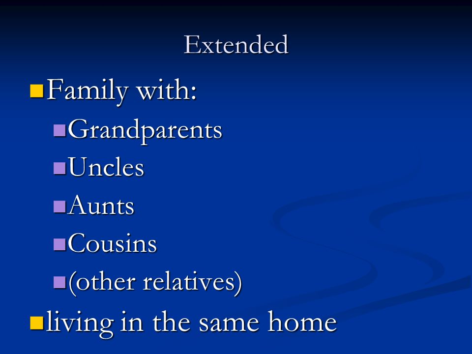 family and uncles aunts cousins Definition of aunt in english:  so there are no aunts, uncles or cousins  is a great loyalty to one's immediate family and even beyond - to uncles, aunts,.