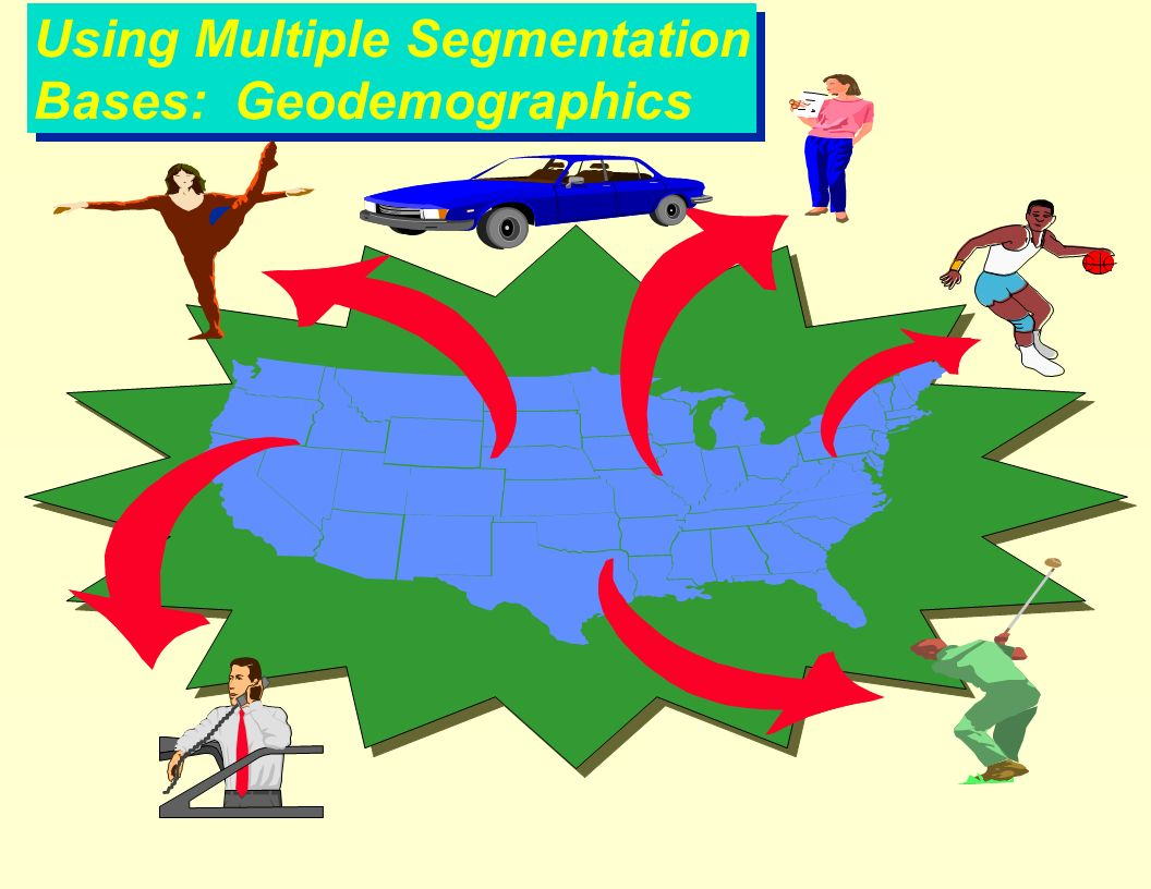 segmentation bases are typically used by
