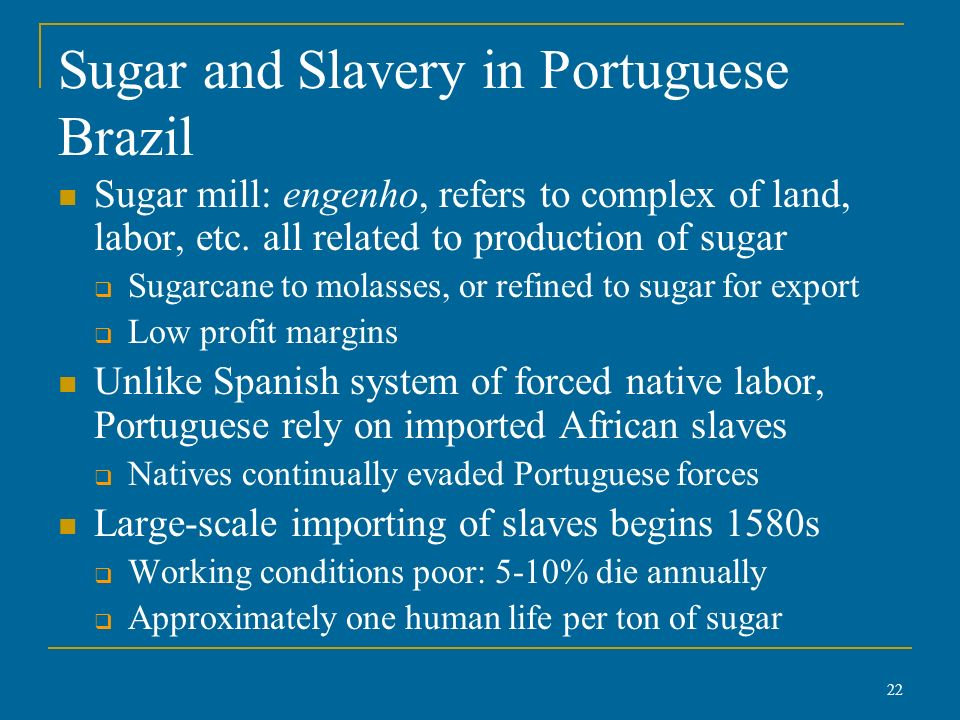 portuguese and spanish slavery Many translated example sentences containing un supplementary convention on the abolition of slavery – spanish-english dictionary and search engine for spanish.