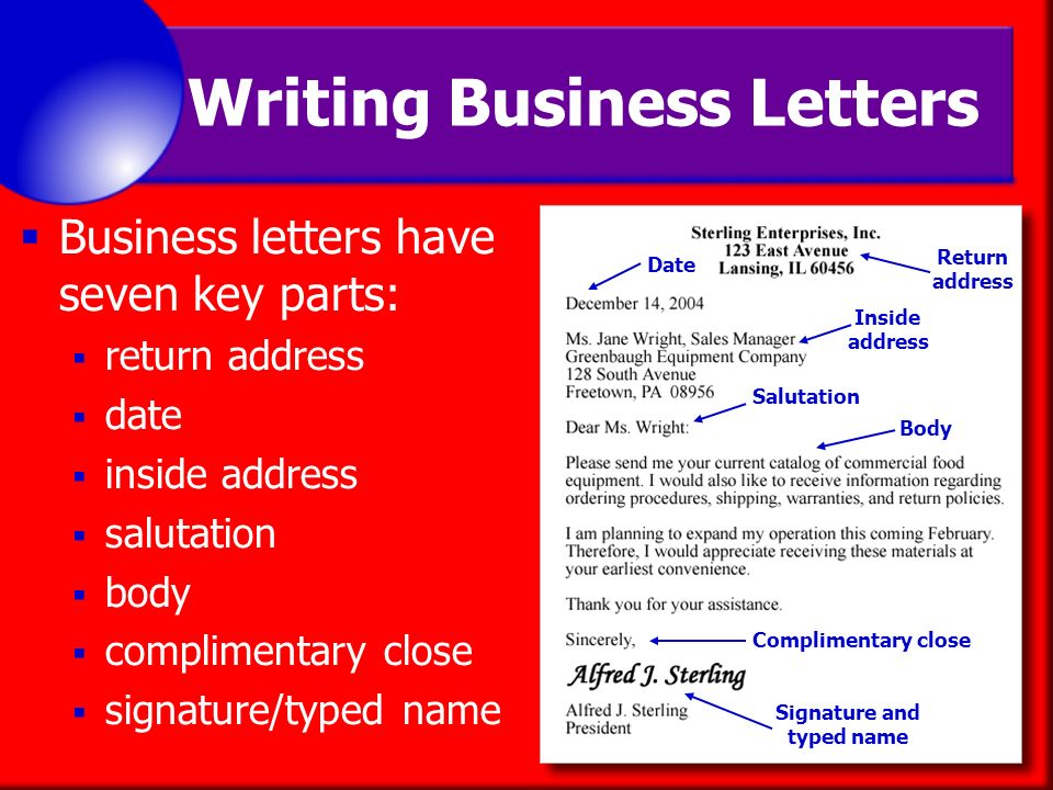 do you have to write a return address on letters