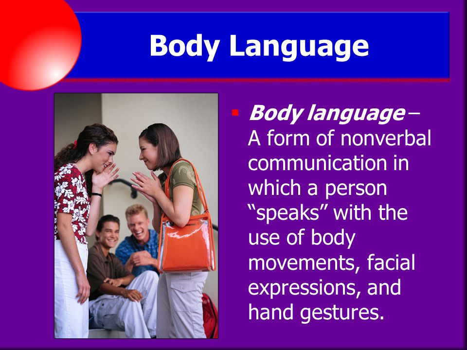 body language in communication pdf