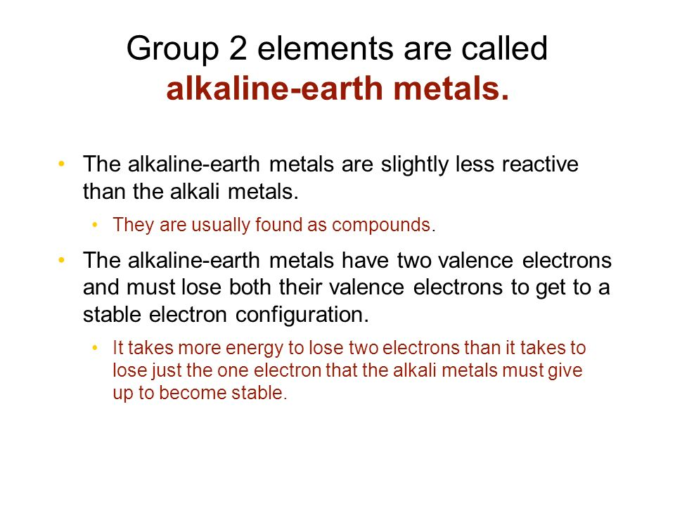 Periodic table elements in group 2 of the periodic table are periodic chart ppt video online download periodic table elements in group 2 urtaz