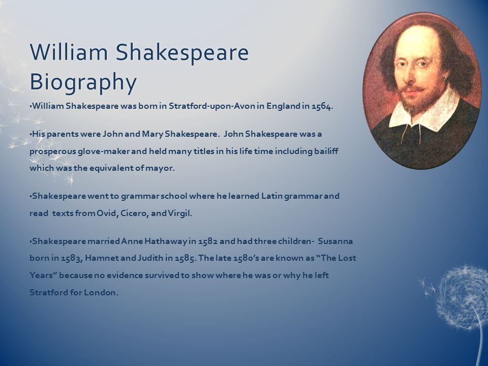a biography of william shakespeare a writer from london Who were william shakespeare's rivals and what were they like  i have read ' london-the biography' as well as 'thames:sacred river' and this author.