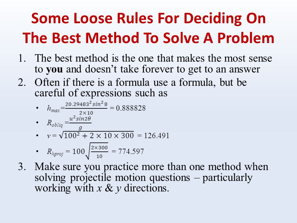 horizontal projectile motion problems with solutions pdf