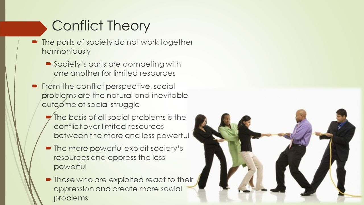 conflict approach to social change