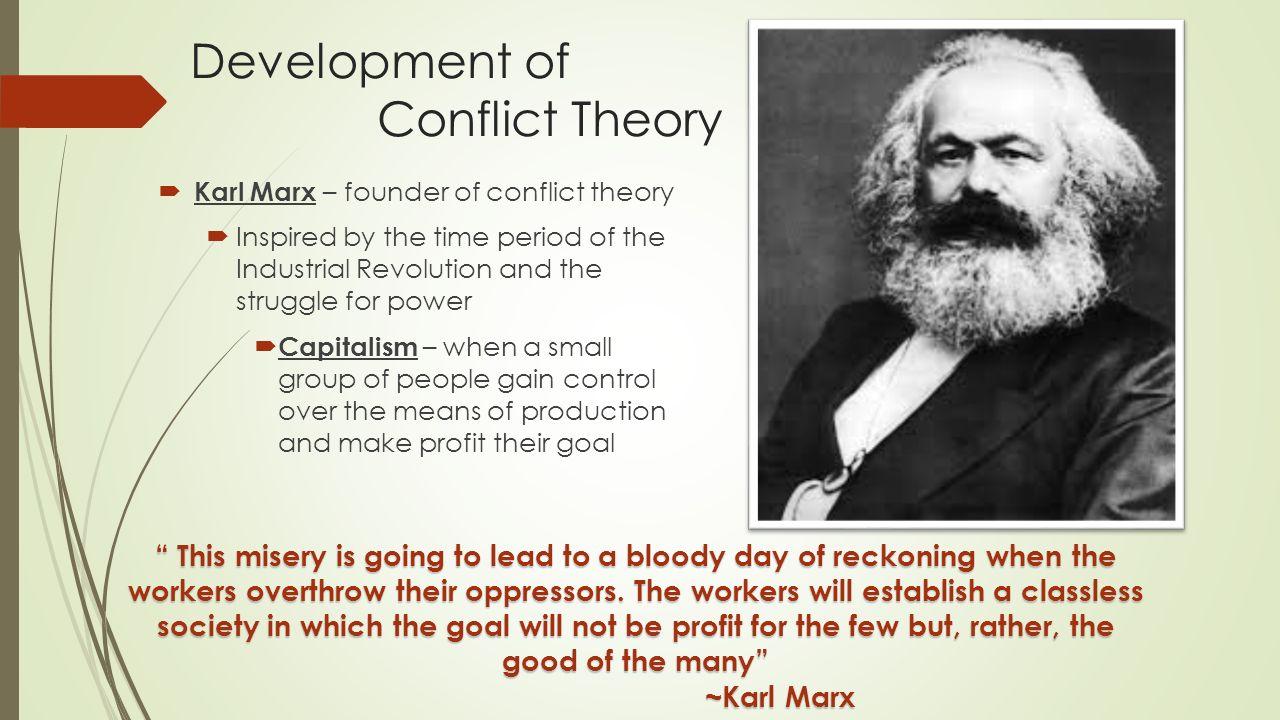 Karl marx theory