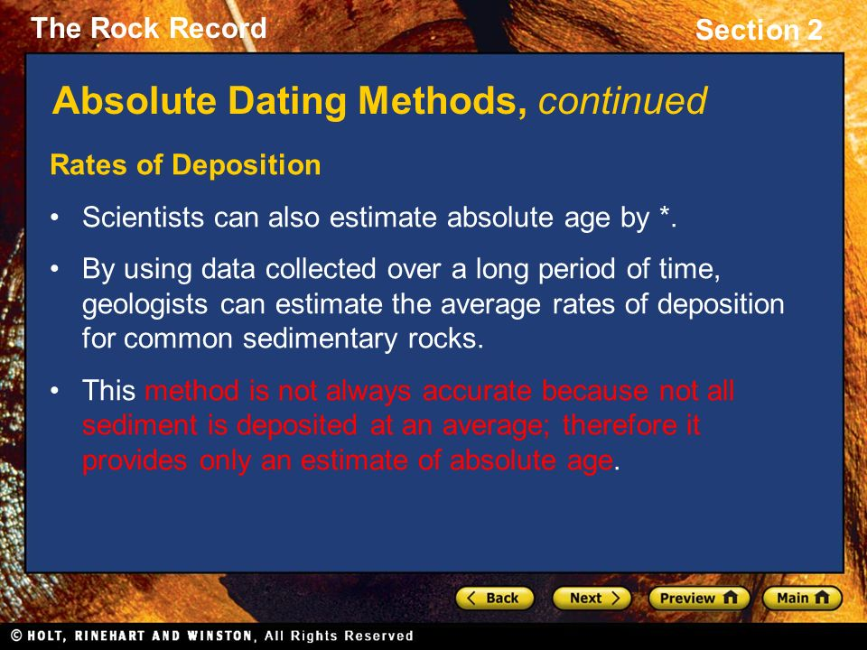 Dating methods in Archaeology. Are they accurate