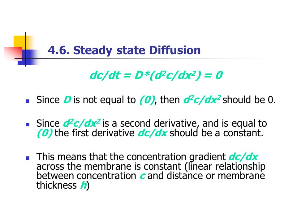 relationship between concentration gradient and diffusion