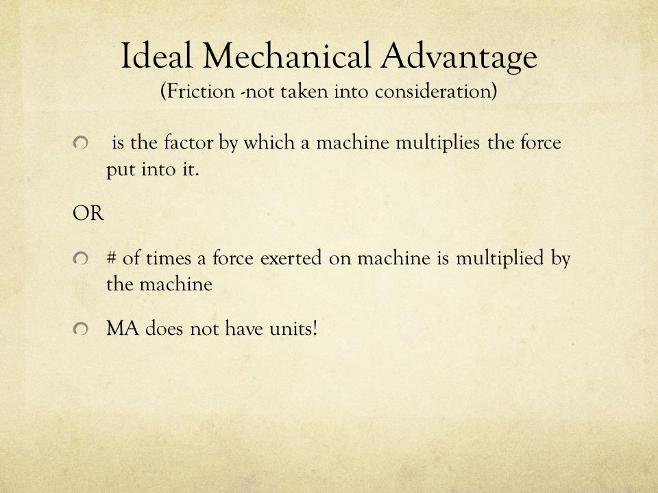 if a machine multiplies by a factor of 4 what other quantity is diminished and by how much