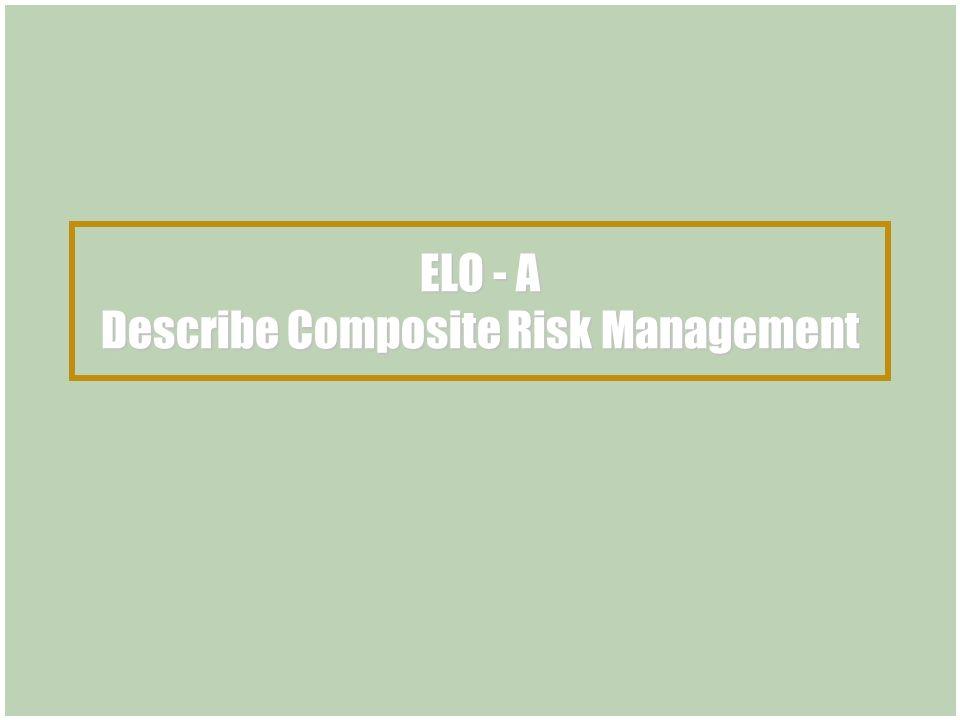 Composite Risk Management Tactical Course ppt download – Composite Risk Management Worksheet