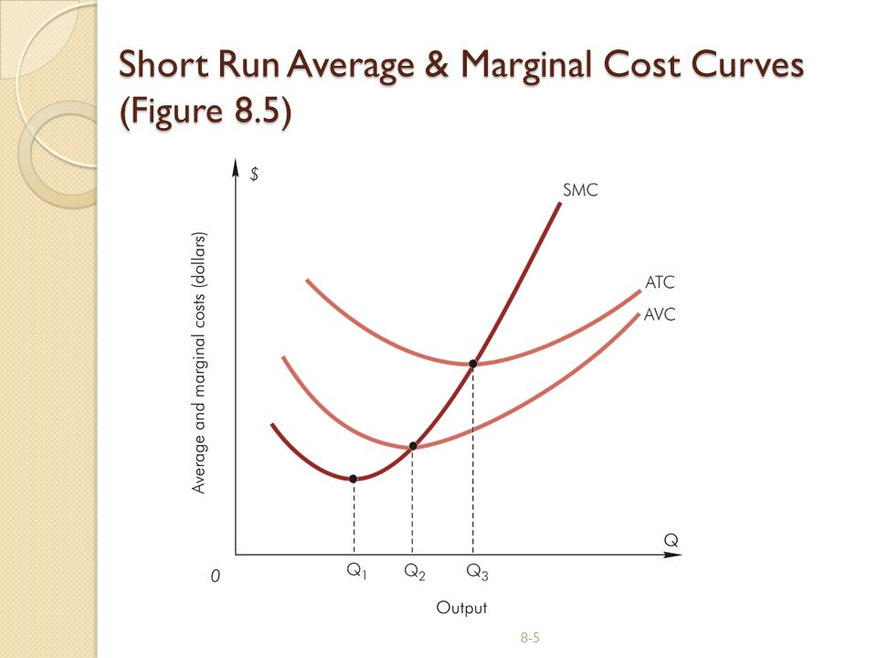 Short Run Marginal Cost Curve Managerial Economics S...