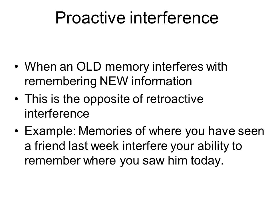 Interference Definition Of Interference By The Free Inducedfo