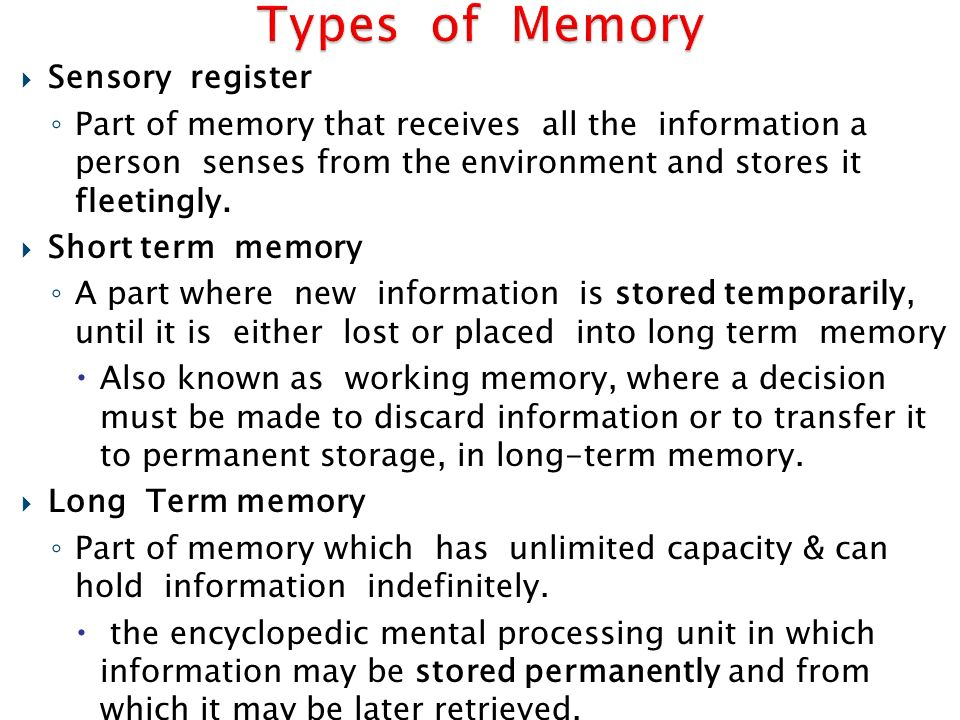 when can memory be temporarily obliterated Some forms of memory loss are temporary and can be treated  many things can  cause serious memory problems, like blood clots, depression and alzheimer's.