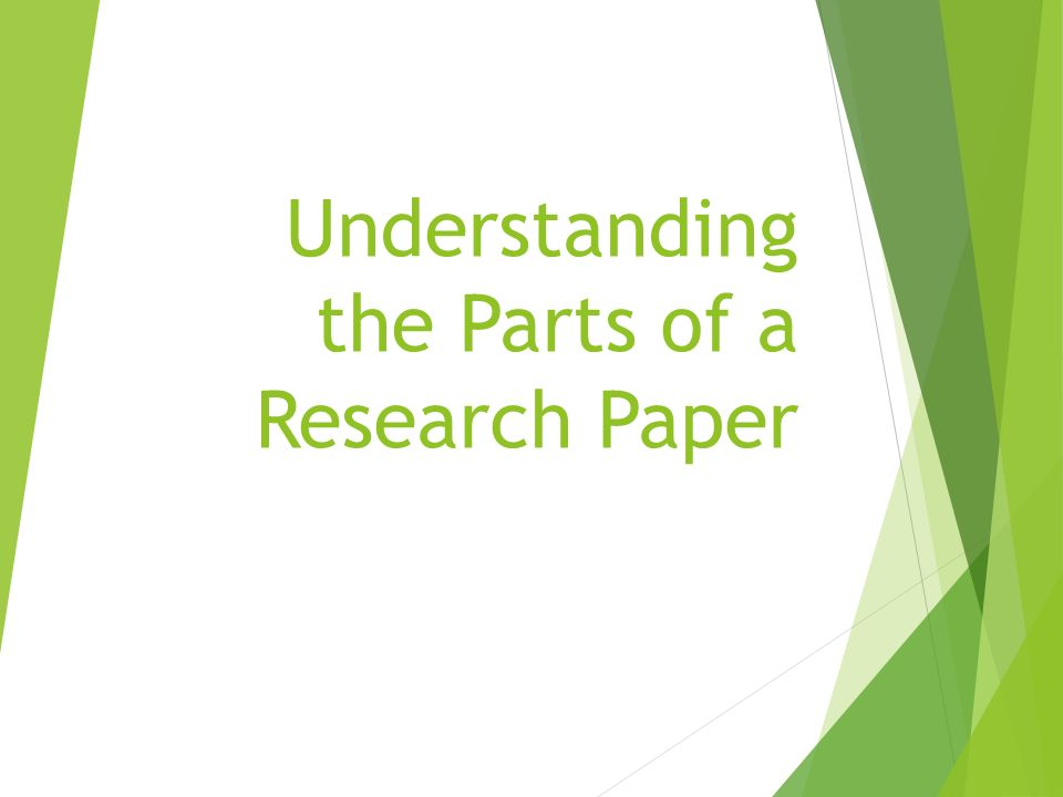 planning of research paper qualitative
