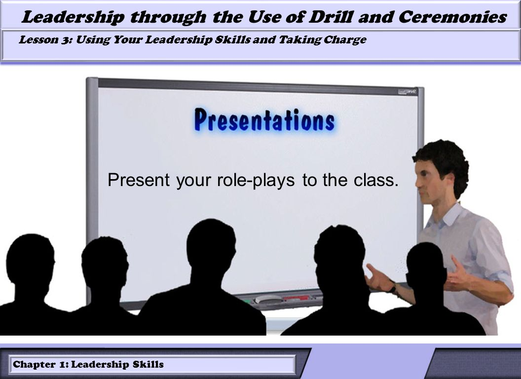 Present your role-plays to the class.