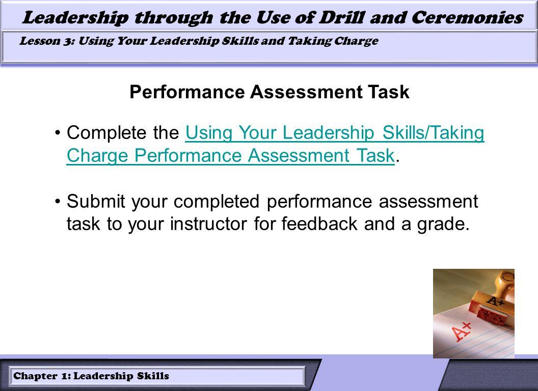 Performance Assessment Task