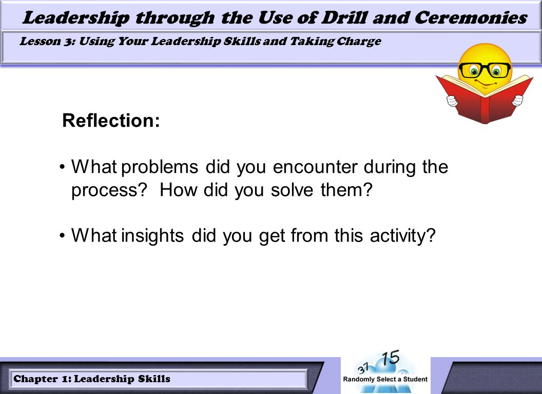 Reflection: What problems did you encounter during the process.