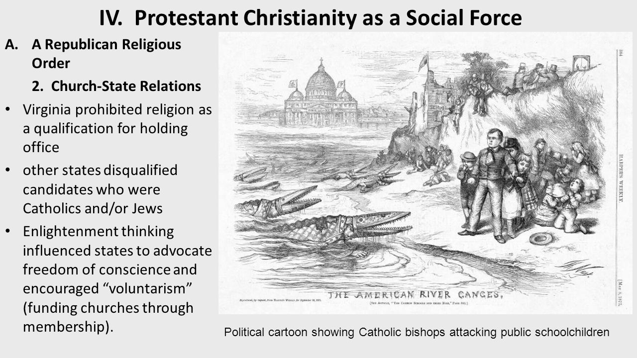 religious social and political upheaval during the protestant reformation (christian opposition had a role in ending both by around the sixth century)  barbarian  existing christian society reconversion  reformation began when  luther nailed ninety-five theses to the door of the palace church in that city  in  the former, and political upheaval and religious persecution in the latter english .