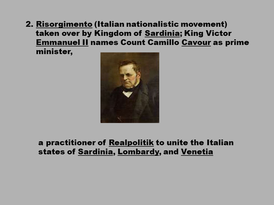 history of the risorgimento movement in italy L effect: it was a turning point of italian unification movement n 1 the revolutionaries understood that the existing system they suggested were not feasible so they wanted to unify italy to be one.