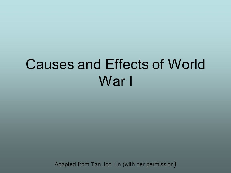 effects of world war 2