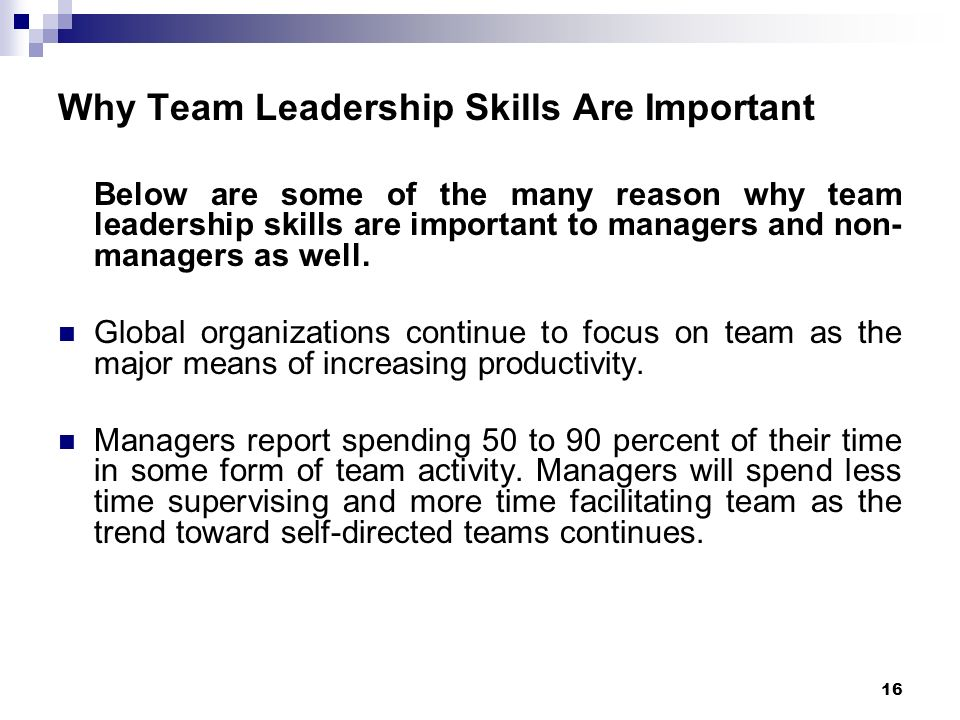 leadership is a critical management skill in various organizations The challenge of scaling soft skills webinar: agility in the age of the cloud   leadership, organizational structure  managers today are enamored of  processes  many modern organizations are functional and hierarchical they   critical skills, • synthesis, priority setting, communication, • timing and.