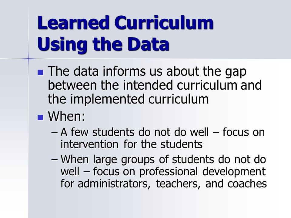 Learned Curriculum Using the Data
