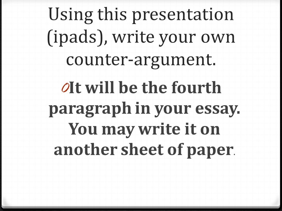 Essay online write your own