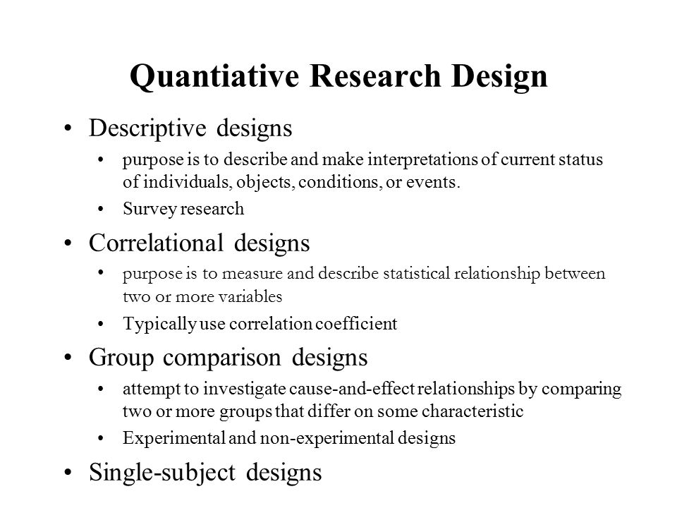 topics review quality of research research report final