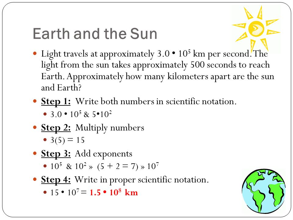 Scientific Notation in the Real World Tutorials, Quizzes, and Help ...