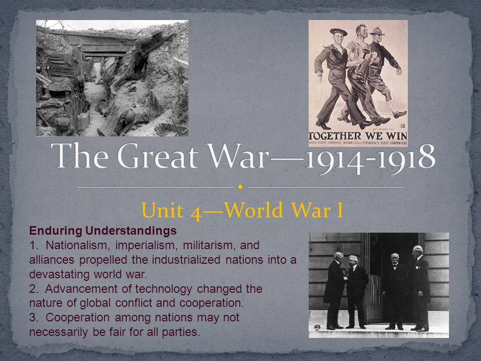 technology advances in world war one