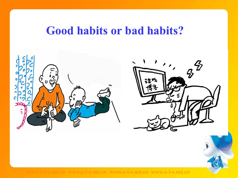 bad habits of trusting online Find out by learning about the 7 deadly habits: the bad habits that can kill a marriage  breaking bad habits   true faith is about trusting god when it isn .