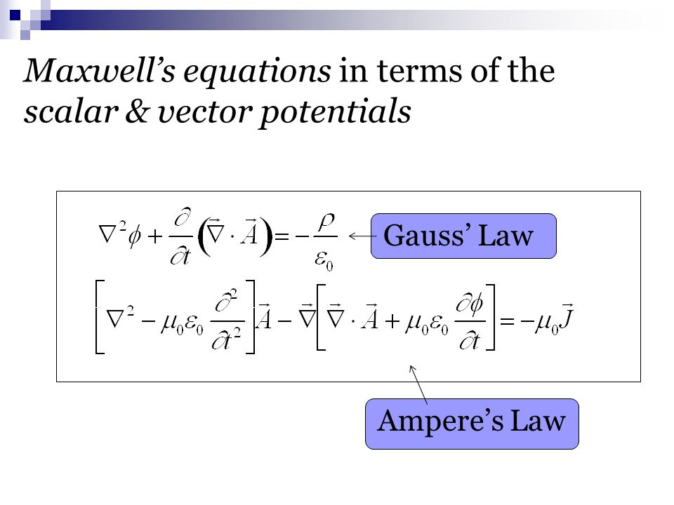 physical significance of maxwell equations pdf