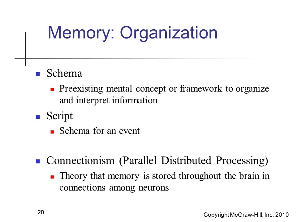 memory organization Memory hierarchy the memory unit is an essential component in any digital  computer since it is needed for storing programs and data not all accumulated.