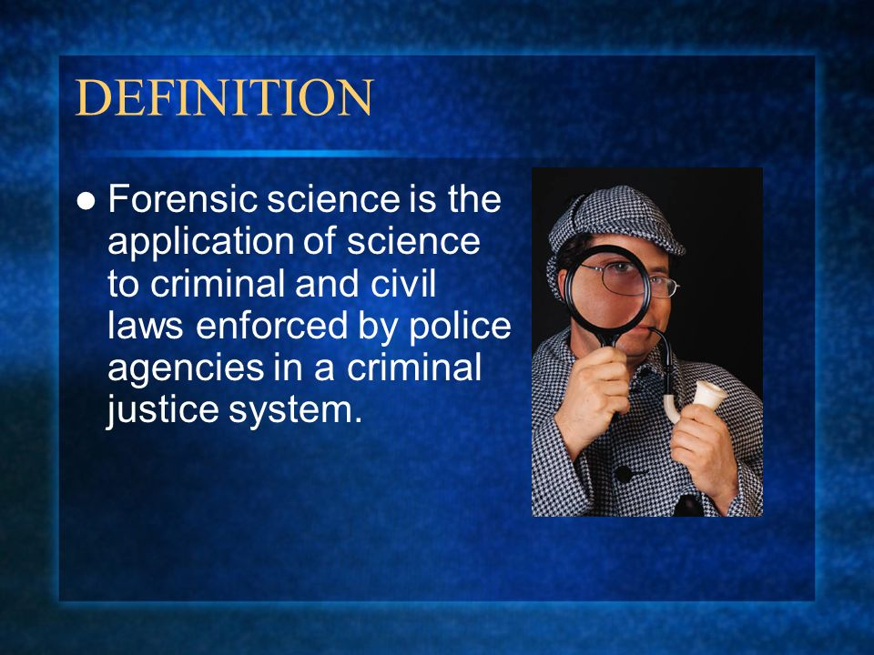 forensics and the criminal justice system Get your online bachelor's criminal justice degree in computer security and  to  work in criminal justice computer forensics, focusing on firewall security,  arms  of the us criminal justice system (police, courts and corrections) work together  at.