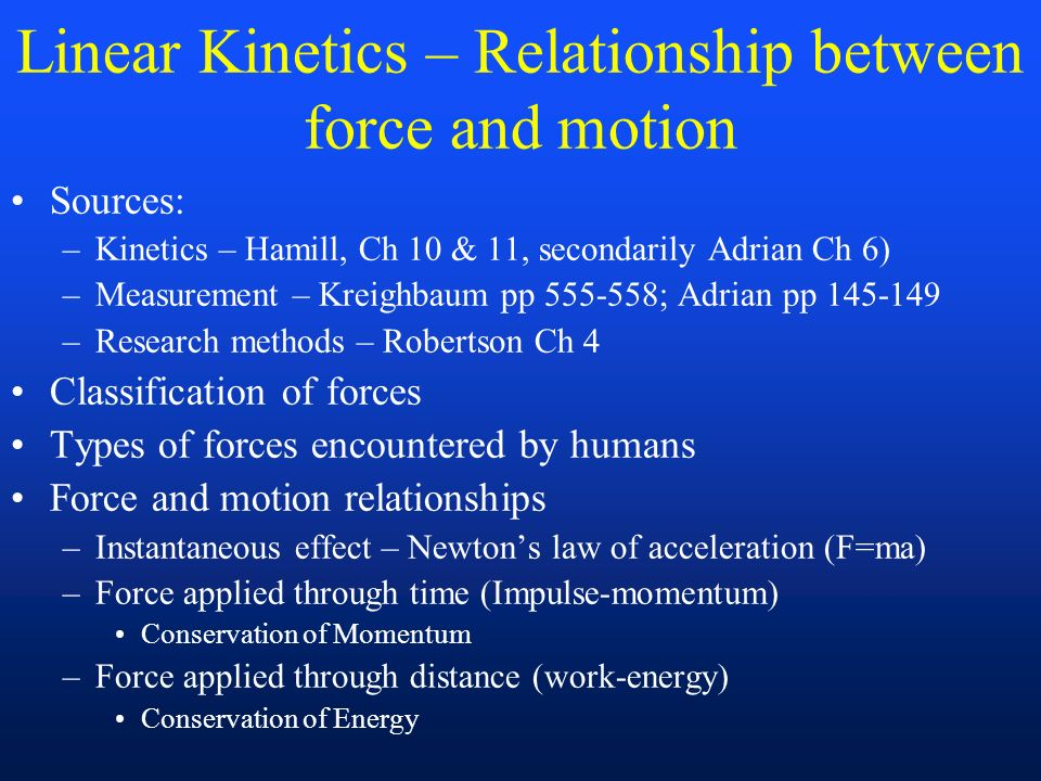 relationship between force and power