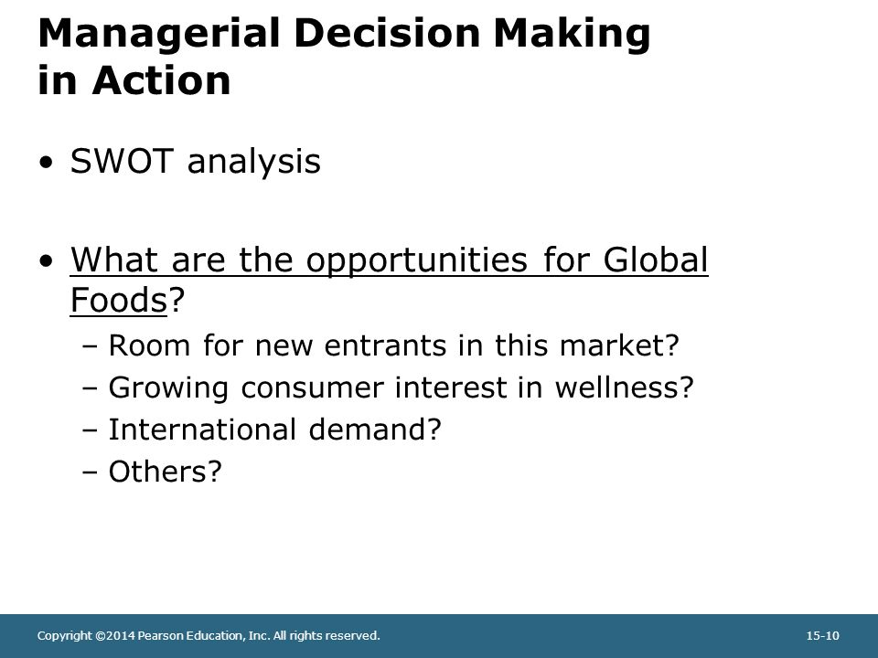 nestlé international managerial decision making How mncs cope with host government intervention yves doz  do they pose to the normal operation of corporate decision making or to the strategic autonomy of corporate managers  such as cpc .
