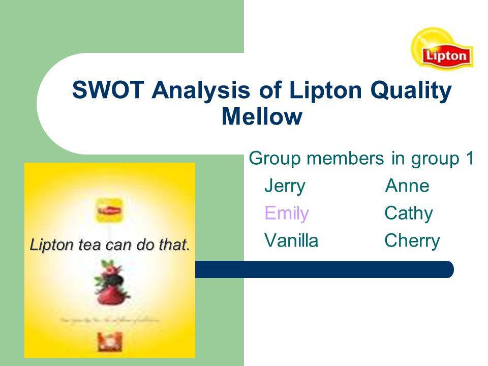 brand analysis imc analysis on lipton What is coca-cola's target market a: quick answer coca-cola has no specific target market, according to marketmixxcom.