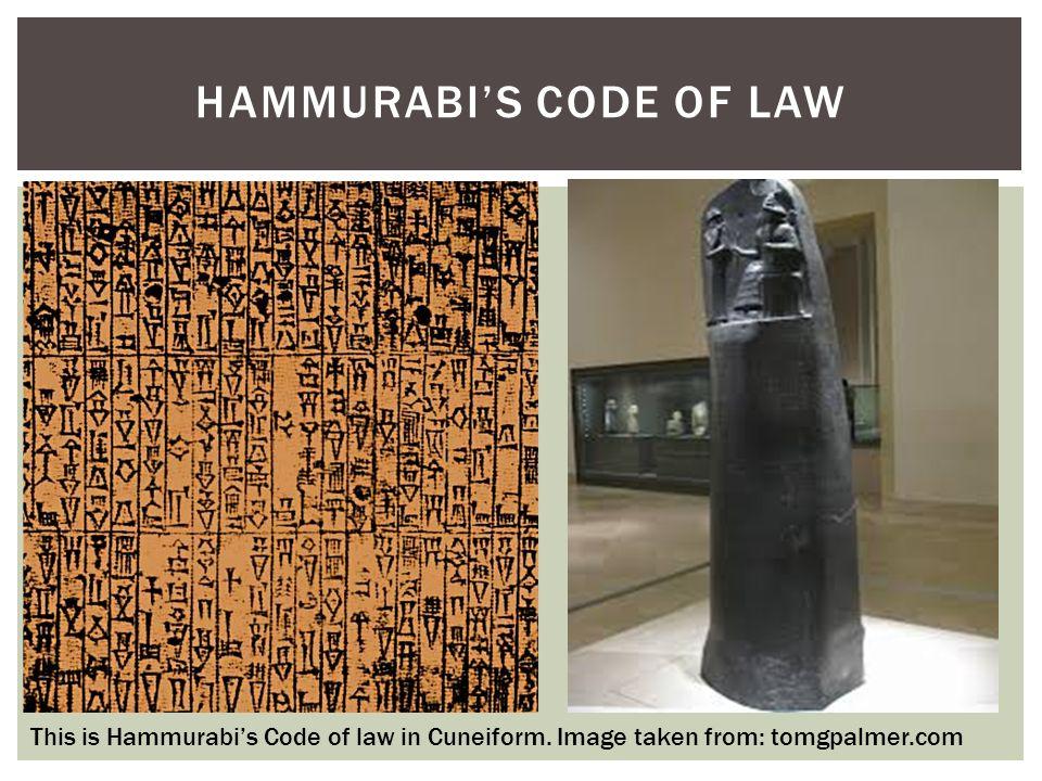 code of hammurabi pdf cuneiform
