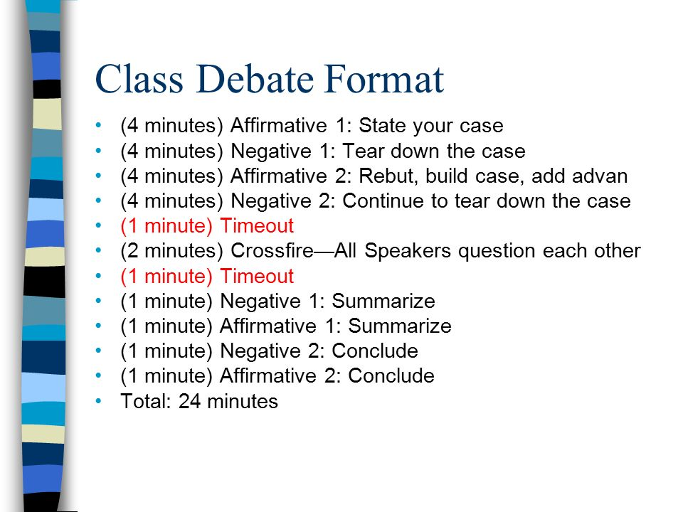 """affirmative debate case Sites with debate evidence, argument summaries, or citations the national association for urban debate leagues maintains a very useful topic resources pageit includes a """"starter packet"""" on the oceans policy topic — encompassing several affirmative cases, case neg, and disadvantages — as well as links to several series."""