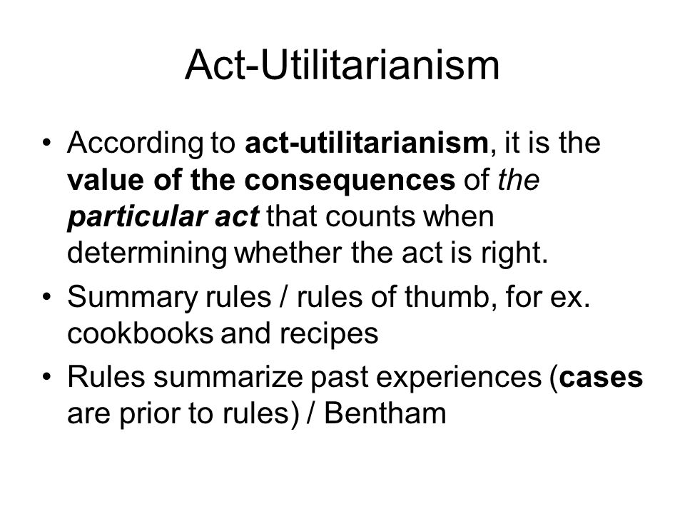 an introduction to the concept of utilitarianism Utilitarianism and its critics / edited with sn introduction by jonathan glover   clearly point to the ideas of pleasure and pain as the words happiness and felicity .