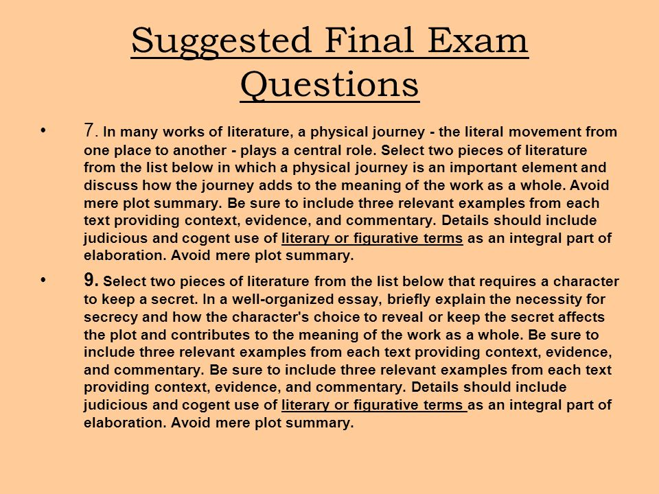 importance of journeys essay